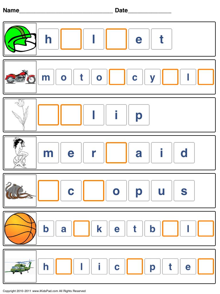 Free Printable Spelling Worksheets | Free Printable Spelling - Free Printable Spelling Worksheets
