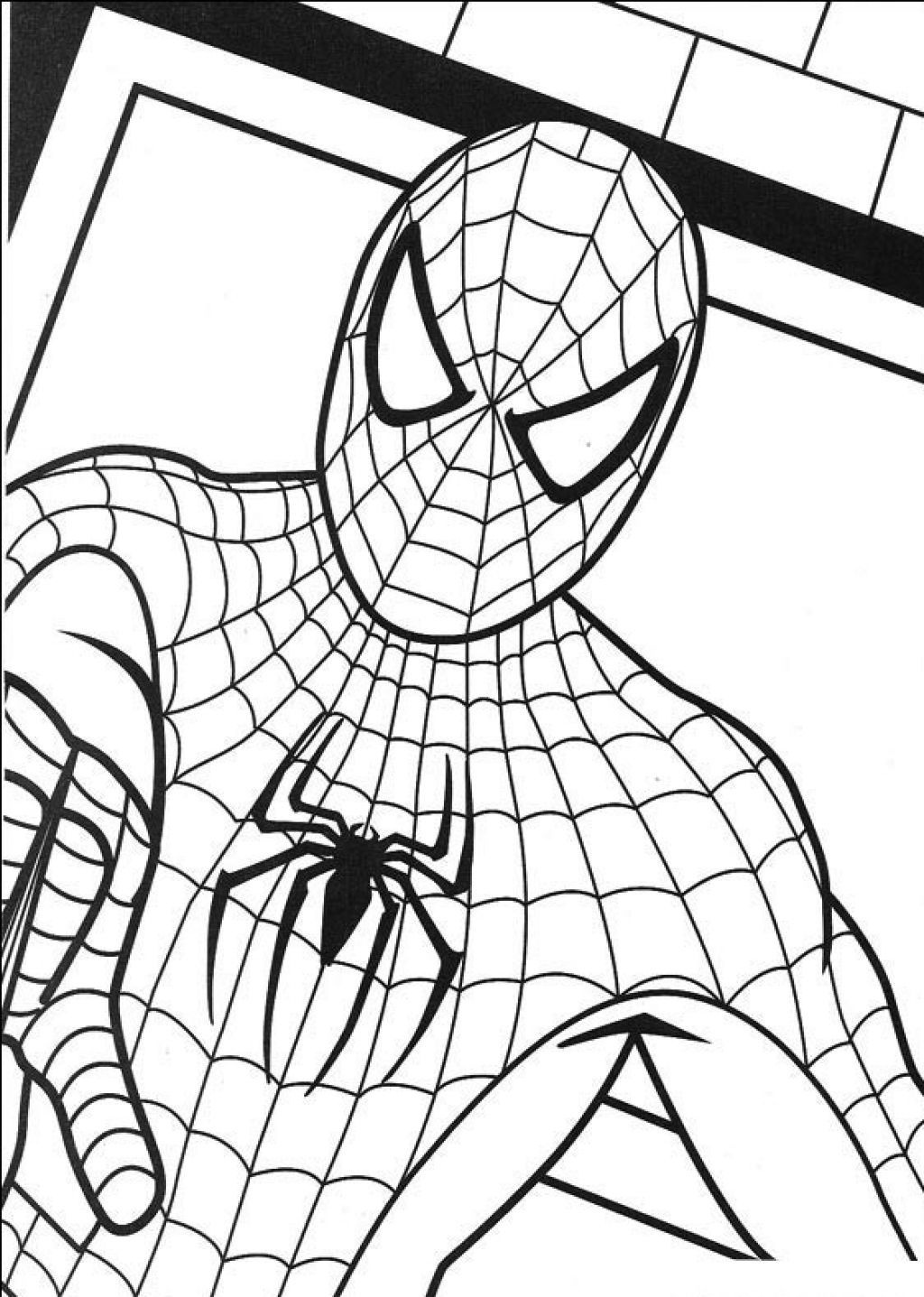 Free Printable Spiderman Coloring Pages For Kids   Coloring Pages - Free Spiderman Printables