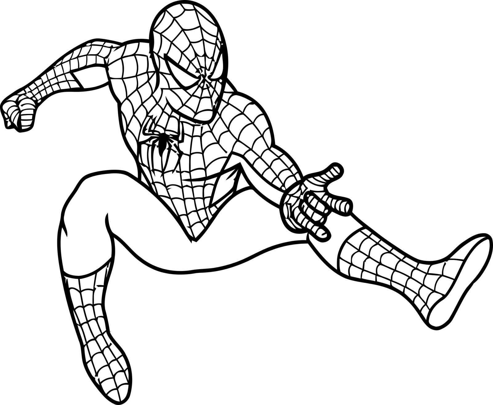Free Printable Spiderman Coloring Pages For Kids - Free Spiderman Printables
