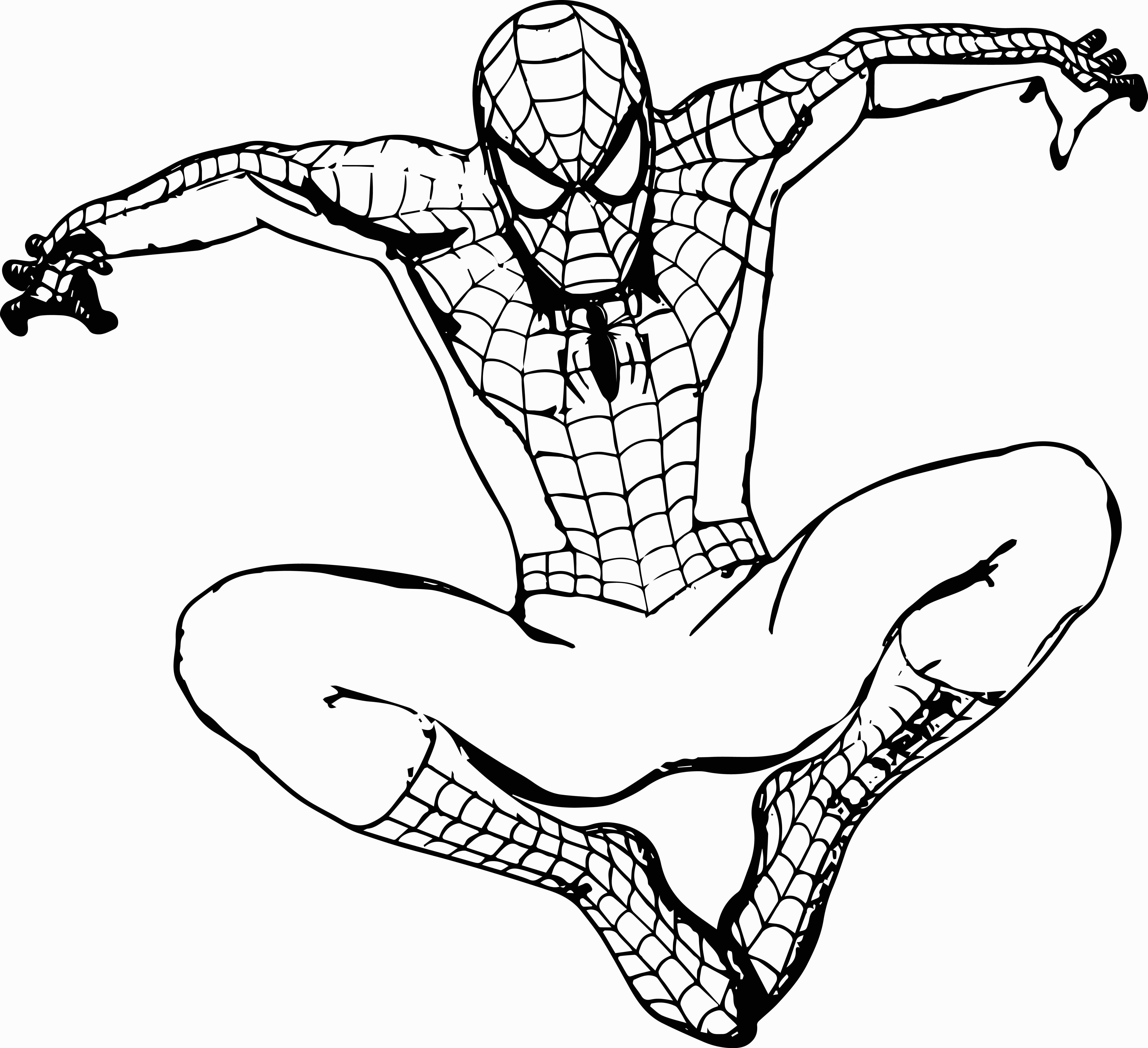 Free Printable Spiderman Images To Color Of Your Favorite   Coloring - Free Spiderman Printables