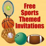 Free Printable Sports Birthday Party Invitations Templates | Hubpages   Free Printable Sports Birthday Invitation Templates