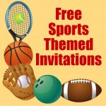 Free Printable Sports Birthday Party Invitations Templates | Hubpages   Sports Birthday Cards Free Printable