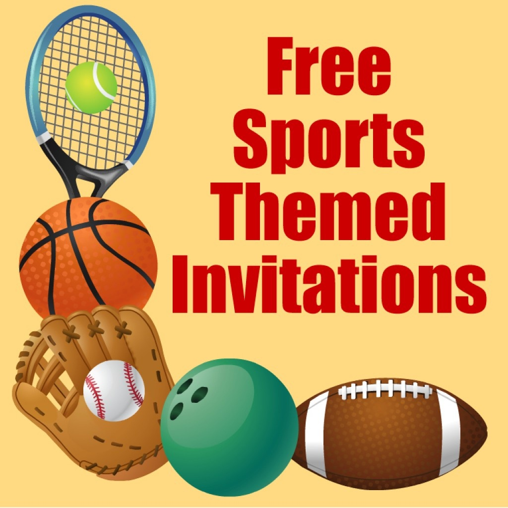 Free Printable Sports Birthday Party Invitations Templates | Hubpages - Sports Birthday Cards Free Printable