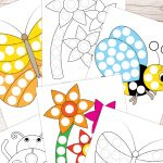 Free Printable Spring Do A Dot Pages | Crafts & Activities For Kids   Do A Dot Art Pages Free Printable