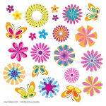 Free Printable Spring Flowers Clip Art N3 Free Image   Free Printable Flowers