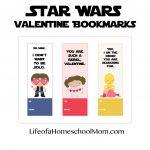 Free Printable Star Wars Valentine Bookmarks   Life Of A Homeschool Mom   Free Printable Lego Star Wars Valentines
