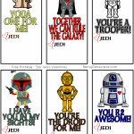 Free Printable Star Wars Valentines | Being Genevieve   Free Printable Lego Star Wars Valentines