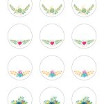 Free Printable Stickers   Spring Time Floral Labels   The Graffical Muse   Free Printable Floral Labels