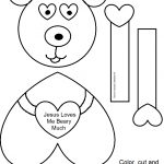 Free Printable Sunday School Crafts (77+ Images In Collection) Page 1   Free Printable Sunday School Crafts