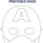 Free Printable Superhero Face Masks For Kids   Simple Mom Project   Free Printable Face Masks