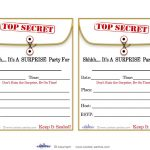 Free Printable Surprise Birthday Party Invitations Templates | Party   Free Printable Surprise 40Th Birthday Party Invitations