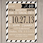 Free Printable Surprise Party Invitation Templates | Invitations In   Free Printable Surprise 40Th Birthday Party Invitations