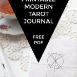 Free Printable Tarot Journal | Creative Writing Blog   Printable Tarot Cards Pdf Free