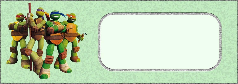 Free Printable Teenage Mutant Ninja Turtle Invitation Card | Coolest - Free Ninja Turtle Printables