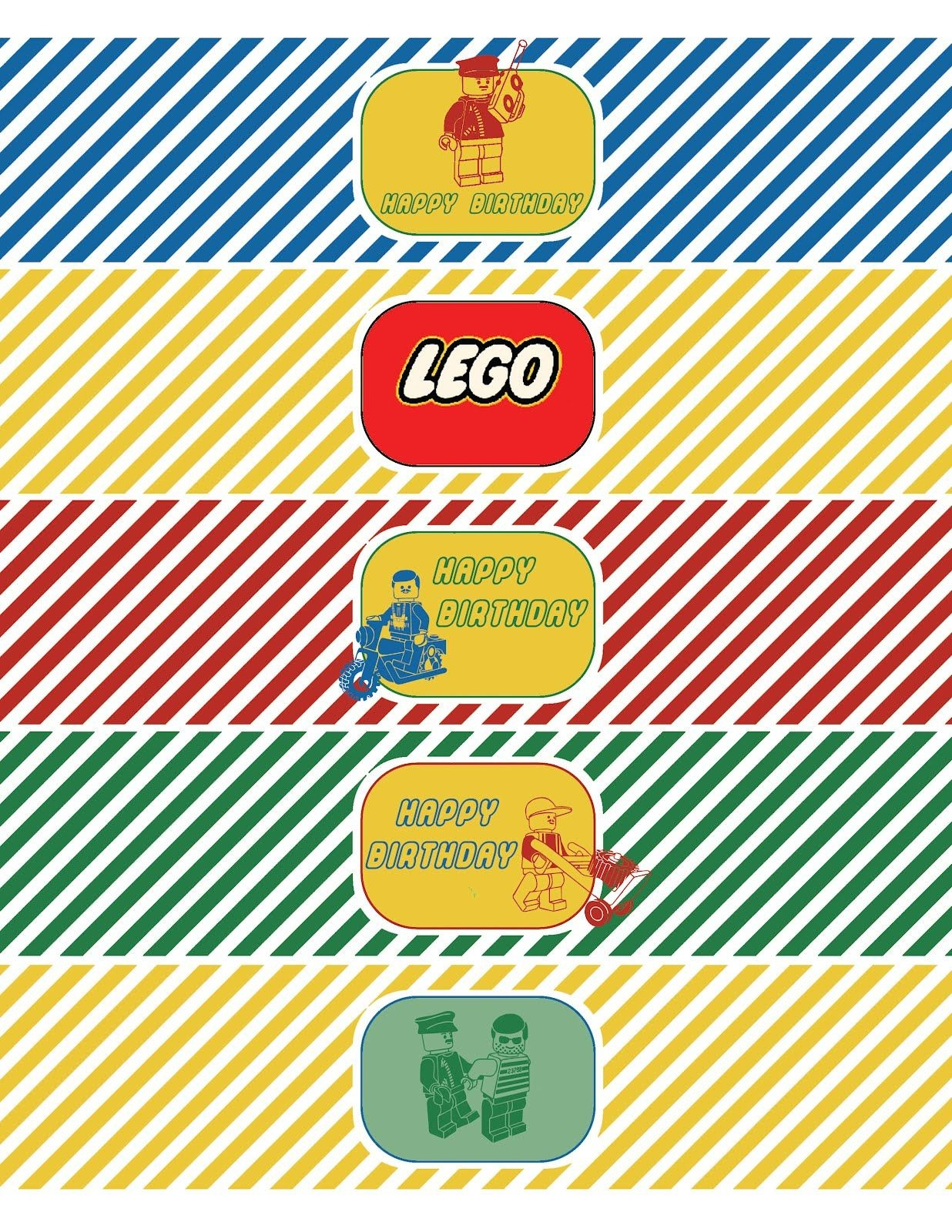 Free Printable Template Lego Movie Water Bottle With Victorious - Free Lego Water Bottle Printables