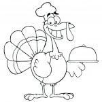 Free Printable Thanksgiving Craft Templates Turkey Template Best   Free Printable Turkey Template