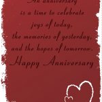 Free Printable 'time To Celebrate' Anniversary Greeting Card   Free Printable Romantic Birthday Cards For Her