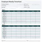 Free Printable Timesheet Templates | Timesheet Template Free Excel   Free Printable Blank Time Sheets