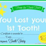 Free Printable Tooth Fairy Certificate   Another Mum Fights The Dust   Free Printable Tooth Fairy Pictures