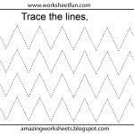 Free Printable Tracing Worksheets Preschool | Preschool Worksheets   Free Printable Activities For Preschoolers