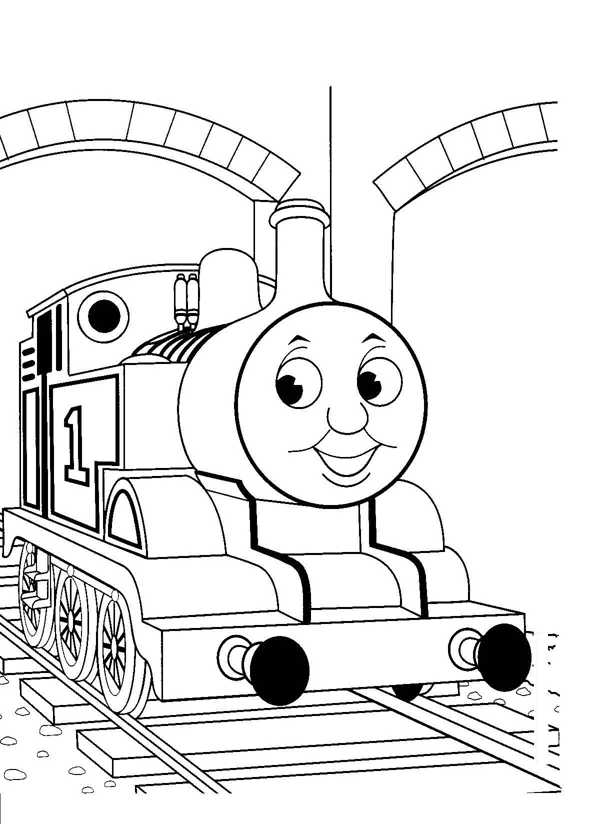 Free Printable Train Coloring Pages For Kids - Free Printable Pictures To Color