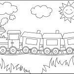Free Printable Train Coloring Pages For Kids   Free Printable Train Pictures