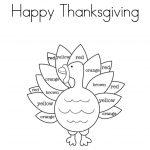 Free Printable Turkey Template Thanksgiving Potluck Templates   Free Printable Turkey Template