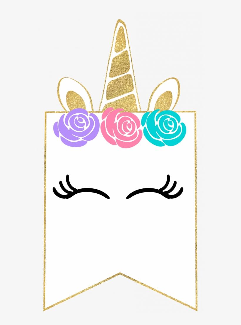 Free Printable Unicorn Decorations Party Banner - Free Printable - Free Printable Unicorn Template
