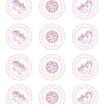 Free Printable Unicorn Party Decorations Pack   The Cottage Market   Free Printable Unicorn Cupcake Toppers