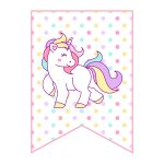 Free Printable Unicorn Party Decorations Pack   The Cottage Market   Unicorn Name Free Printable