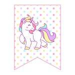 Free Printable Unicorn Party Decorations Pack   The Cottage Market   Unicorn Printable Free