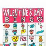Free Printable Valentine Bingo Cards For All Ages   Play Party Plan   Free Printable Valentines Bingo