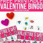 Free Printable Valentine Bingo Cards For All Ages   Play Party Plan   Valentine Bingo Game Printable Free