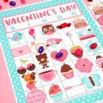 Free Printable Valentine Bingo   Happiness Is Homemade   Valentine Bingo Game Printable Free