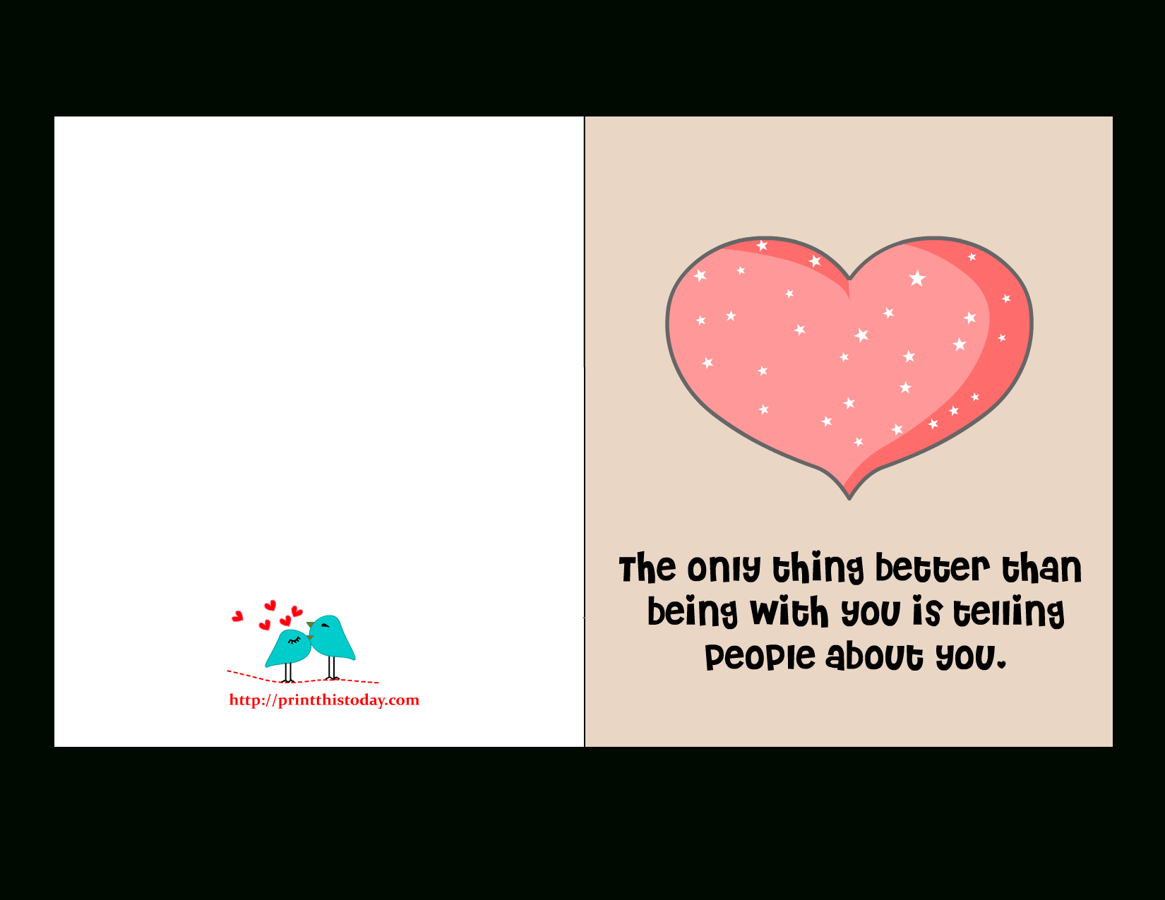 Free Printable Valentine Cards With Love Quotes - Free Printable Romantic Christmas Cards