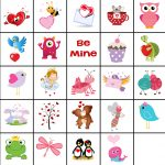 Free Printable Valentine Memory Game   Free Printable Valentine Game