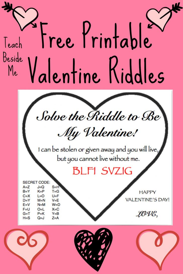 Free Printable Riddles