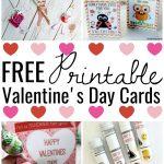 Free Printable Valentines Cards   Meet Penny   Free Printable School Valentines Cards