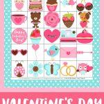 Free Printable Valentine's Day Bingo Cards   Happiness Is Homemade   Valentine Bingo Game Printable Free