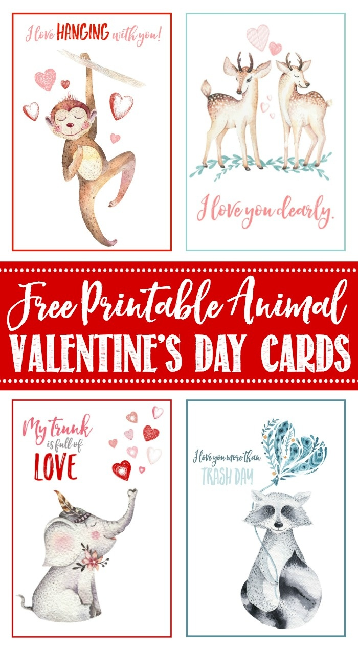Free Printable Valentine's Day Cards And Tags - Clean And Scentsible - Free Printable School Valentines Cards