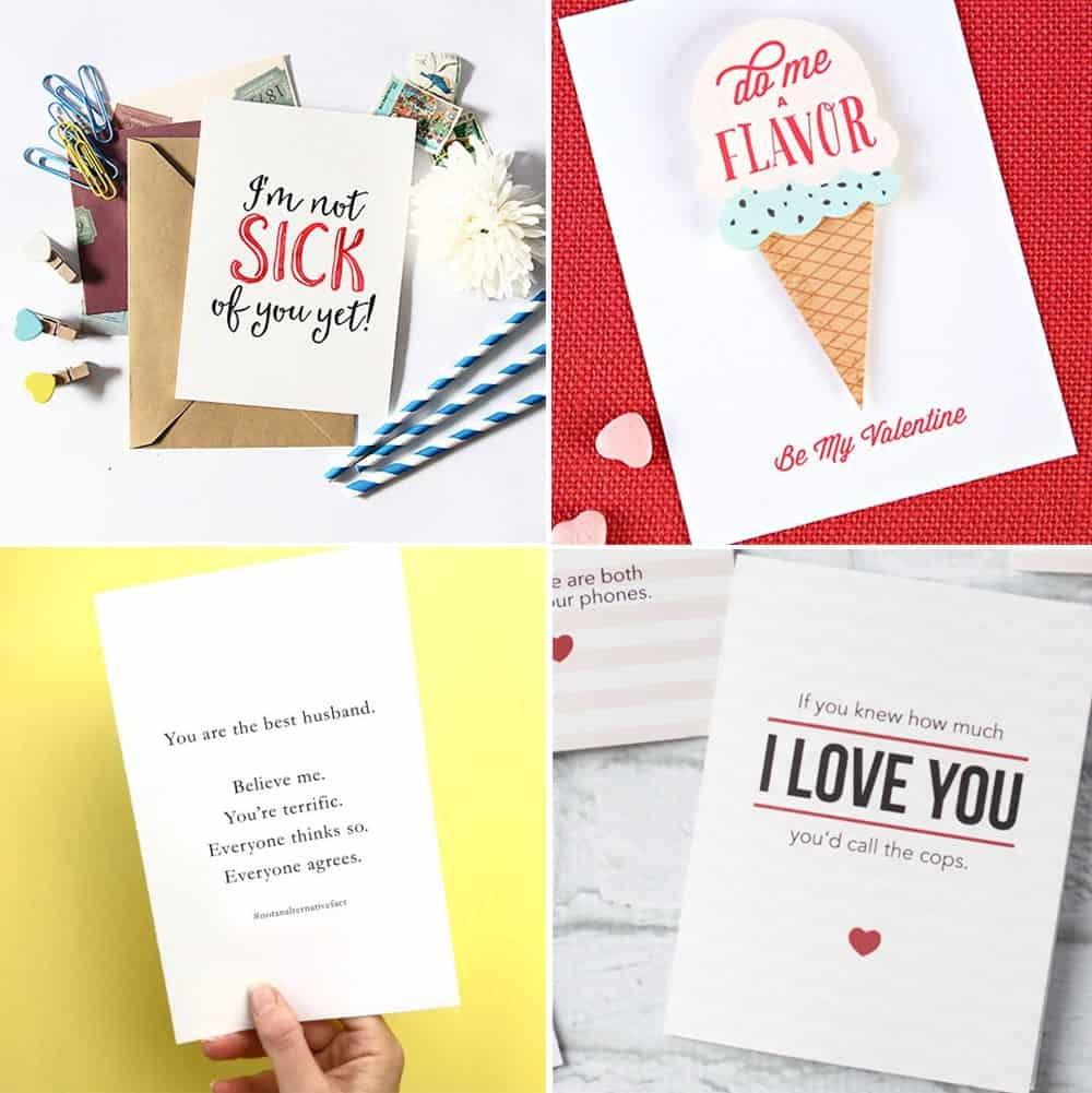Free Printable Valentine's Day Cards - Free Printable Valentine Cards For Husband
