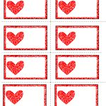 Free Printable Valentines Day Labelsann | Sunday School   Free Printable Heart Labels