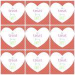 Free Printable Valentine's Day Tags   Free Printable Valentine Tags