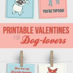 Free Printable Valentines For Dog Lovers | Must Love Dogs | Dogs   Free Printable Dog Valentines Day Cards