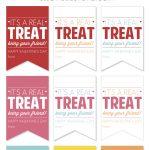 Free Printable Valentine's Treat Tags   Yellow Bliss Road   Free Printable Valentine Tags