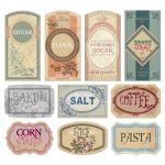 Free Printable Vintage Labels For Jars And Canisters To Organize   Free Printable Old Fashioned Labels