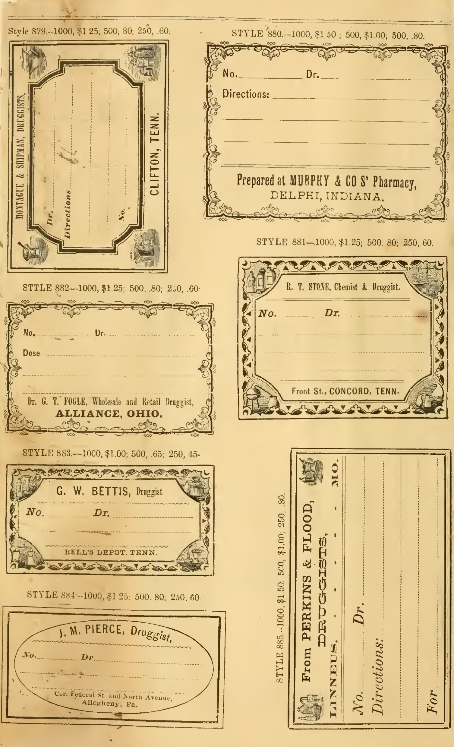 Free Printable Vintage Pharmacy & Apothecary Labels | The - Free Printable Vintage Pictures