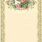 Free Printable Vintage Stationary (87+ Images In Collection) Page 1   Free Printable Vintage Stationary