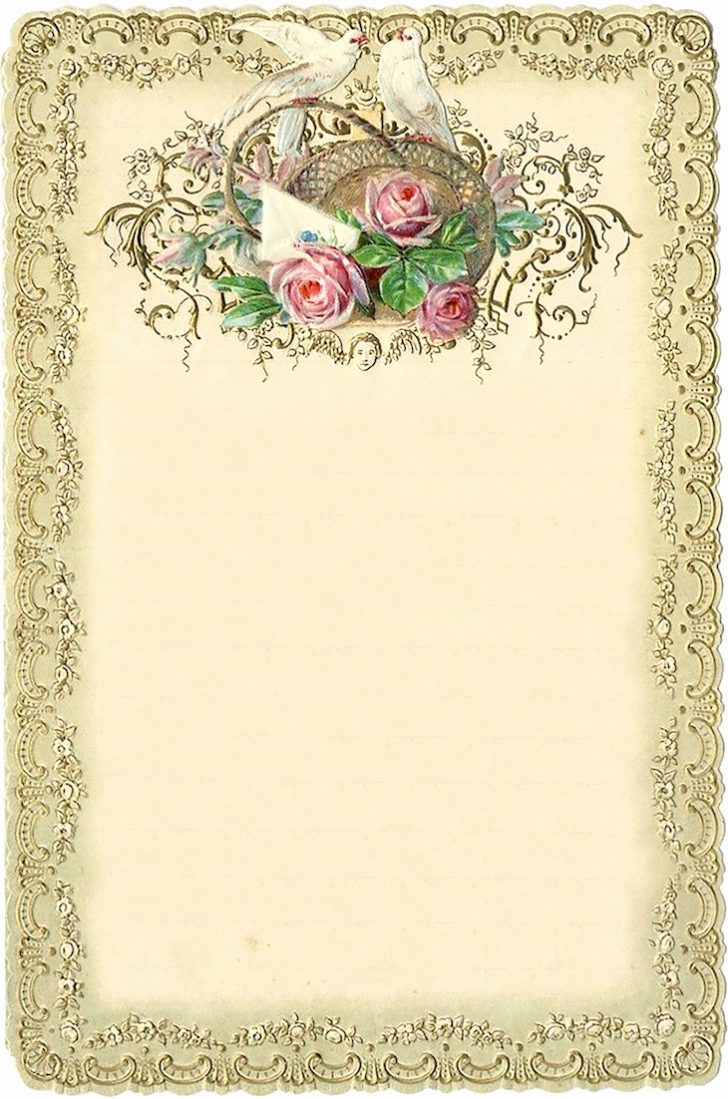 Free Printable Vintage Stationary