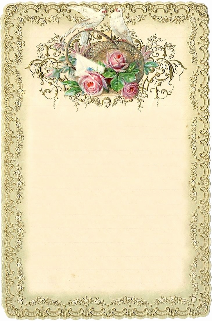 Free Printable Vintage Stationary (87+ Images In Collection) Page 1 - Free Printable Vintage Stationary